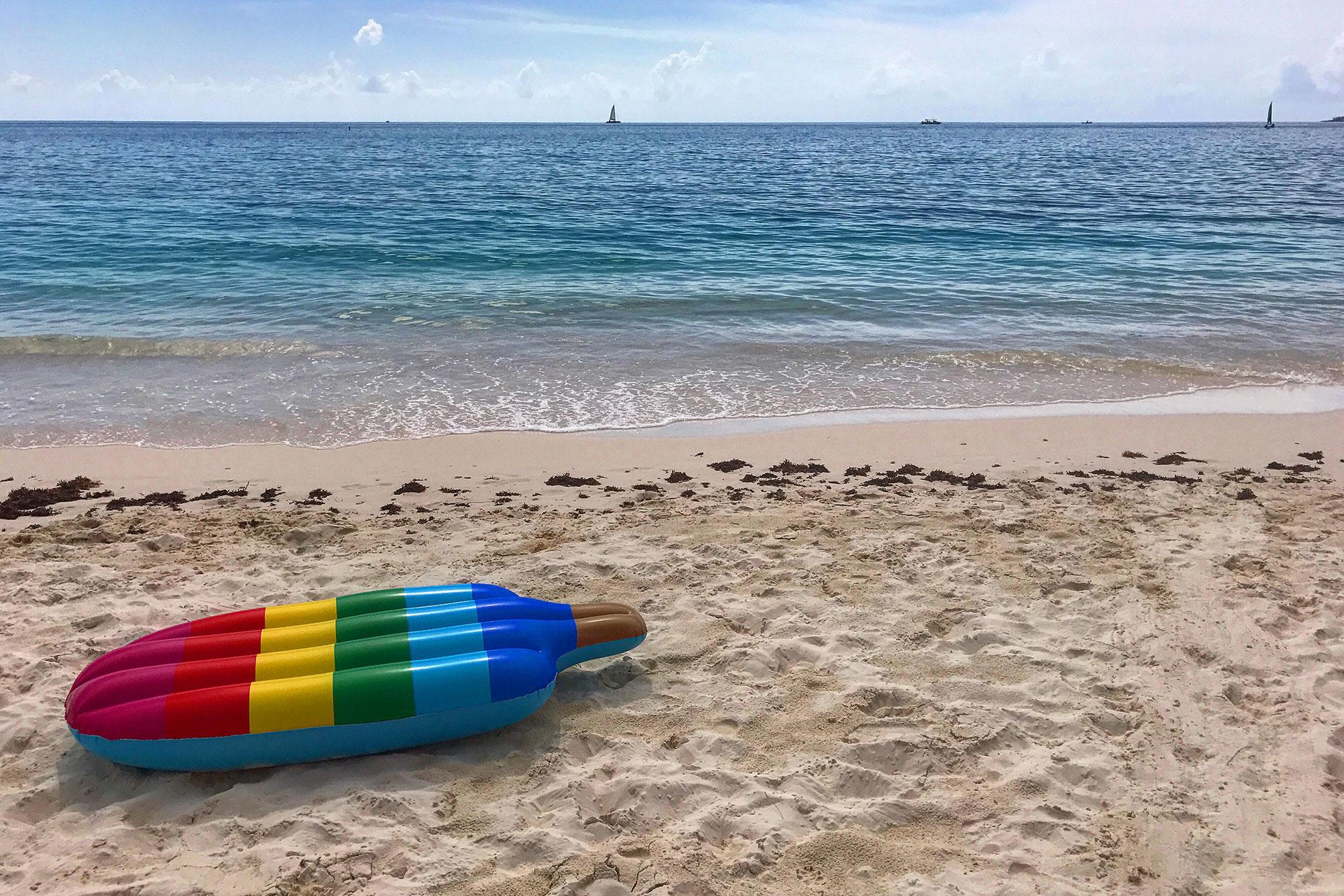 Seven Mile Beach on Grand Cayman