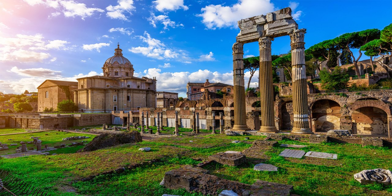 Rome, Italy; Courtesy of Catarina Belova/Shutterstock.com