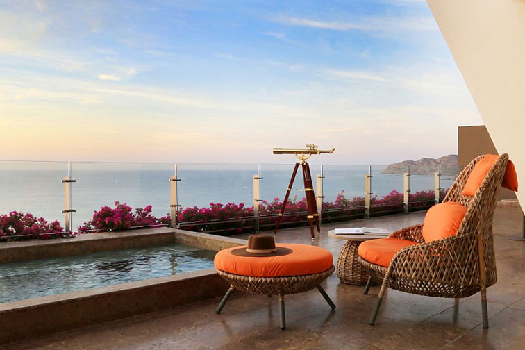 Private Pool in Imperial Suite at Grand Velas Los Cabos in Mexico