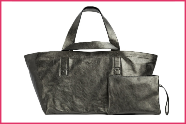 Maria Tote by M. Gemi Travel purse; Courtesy M. Gemi