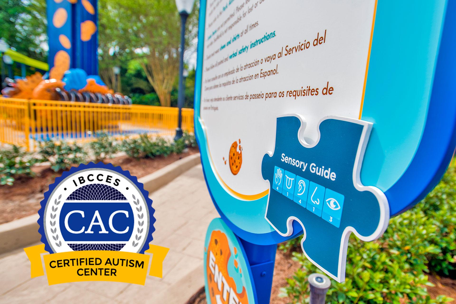 SeaWorld Orlando Resort - Certified Autism Center; Courtesy of SeaWorld Orlando Resort