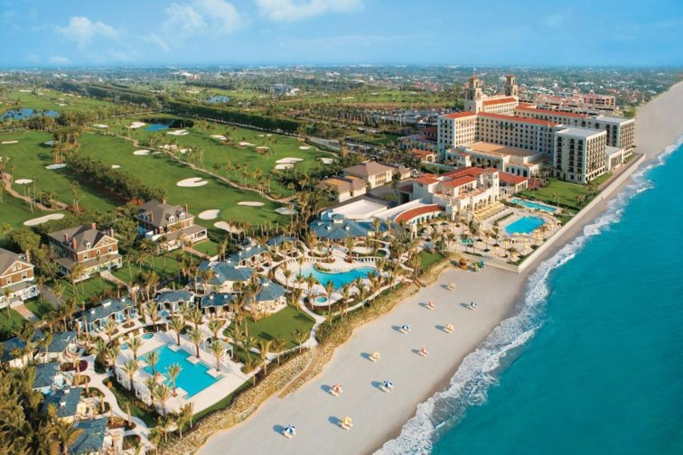 Breakers Palm Beach Aerial; Courtesy of The Breakers Palm Beach