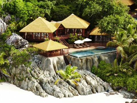 Villa at Fregate Island Private; Courtesy of Fregate Island Private
