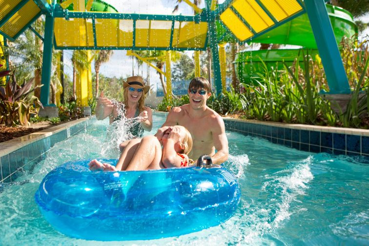 Lazy River at The Grove Resort Orlando; Courtesy of The Grove Resort Orlando