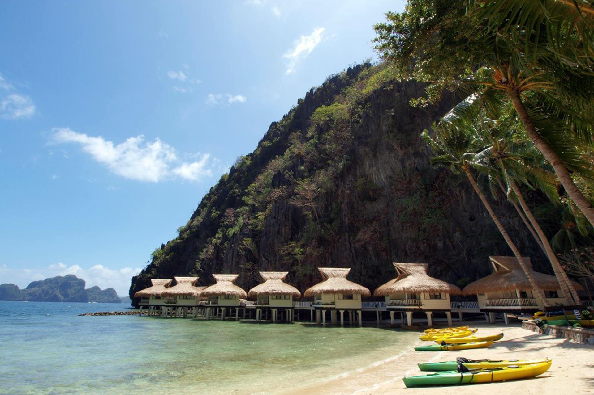 El Nido Miniloc Island in the Philippines; Courtesy of El Nido Miniloc Island
