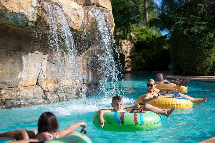 Lazy River at Reunion Resort in Kissimmee, Florida; Courtesy of Reunion Resort