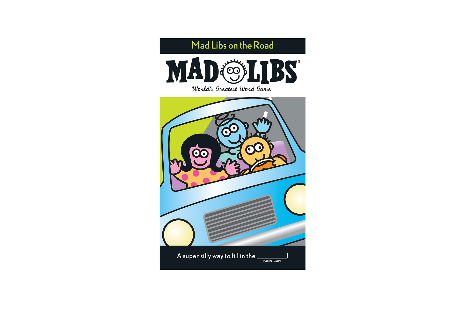 Mad Libs on the Road Book