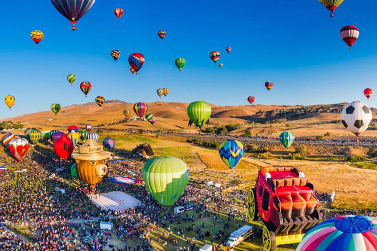 Great Reno Balloon Race in Reno Tahoe, NV