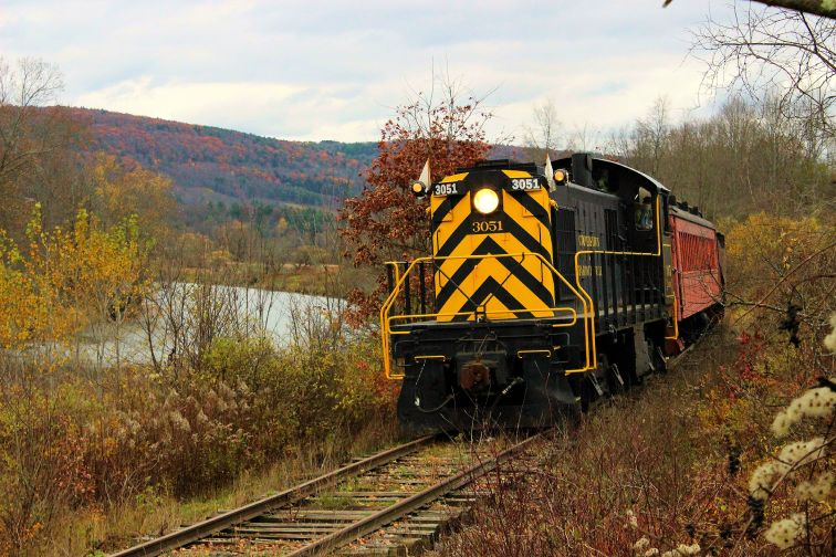 Cooperstown and Charlotte Valley Railroad in New York
