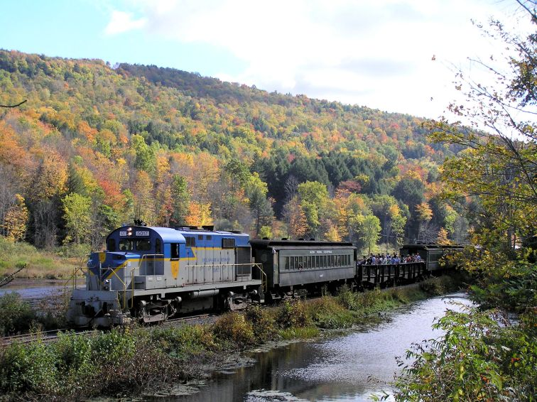 Delaware and Ulster Railroad in New York