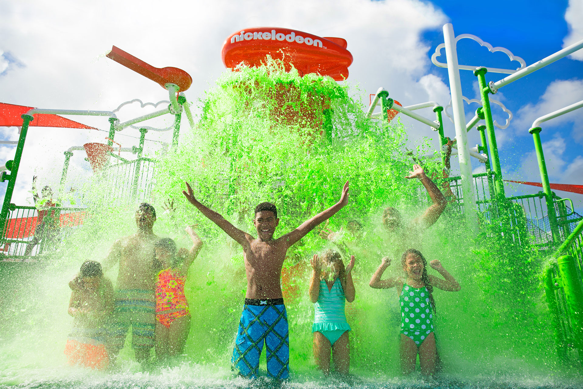 Green Slime at Nickelodeon Hotels & Resorts Punta Cana