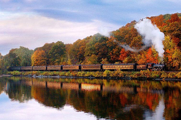 The Essex Steam Train in Connecticut