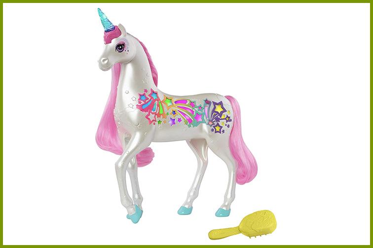Barbie Dreamtopia Brush 'n Sparkle Unicorn; Courtesy of Amazon