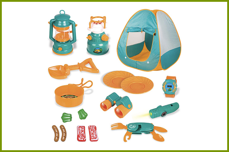 Fun Little Toys Camping Play Set; Courtesy of Amazon
