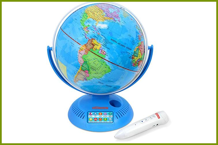 Interactive World Globe; Courtesy of Amazon