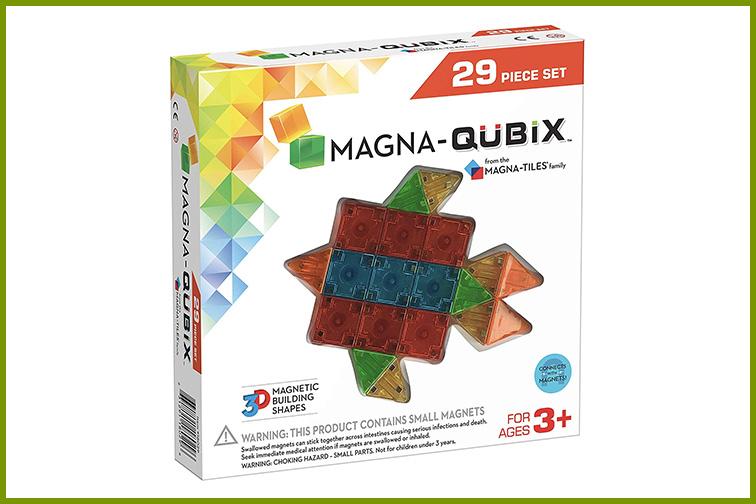 Magna-Qubix Magnetic 3D Building Shapes; Courtesy of Amazon
