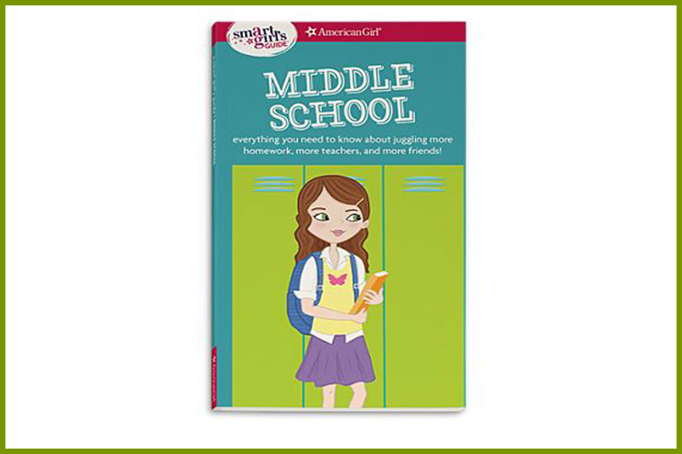 American Girl: Smart Girls Guide to Middle School; Courtesy of Amazon