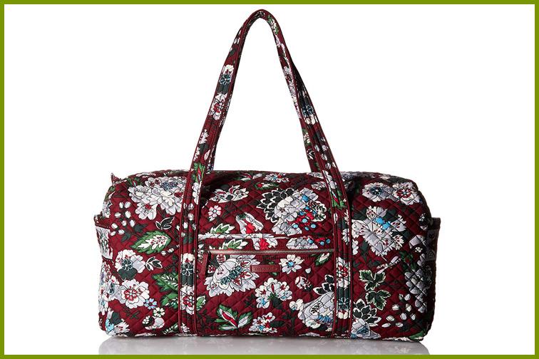 Vera Bradley Duffle Bag; Courtesy of Amazon