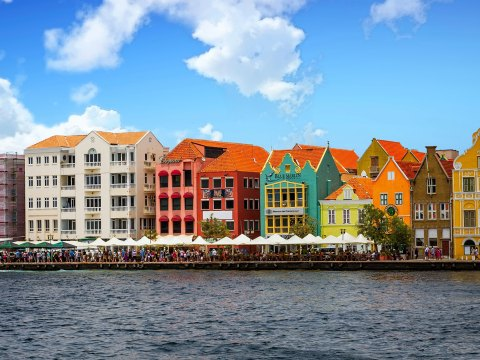 Willemstad, Curacao; Courtesy of Darryl Brooks/Shutterstock.com