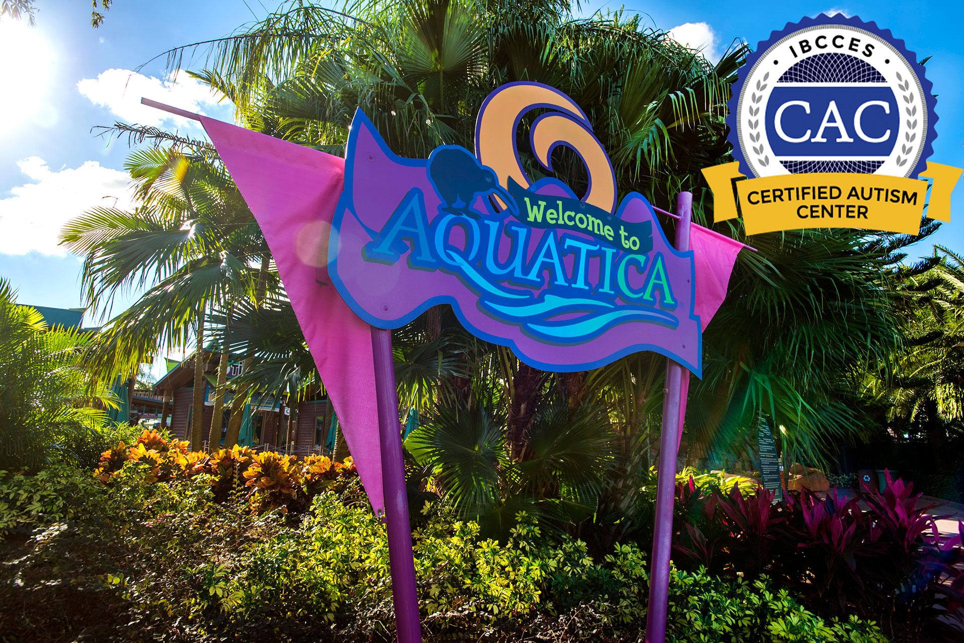 SeaWorld Orlando's Aquatica Water Park is a Certified Autism Center; Courtesy of SeaWorld Orlando