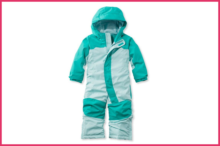 L.L. Bean Infants' and Toddlers' Cold Buster Snowsuit; Courtesy of L.L. Bean