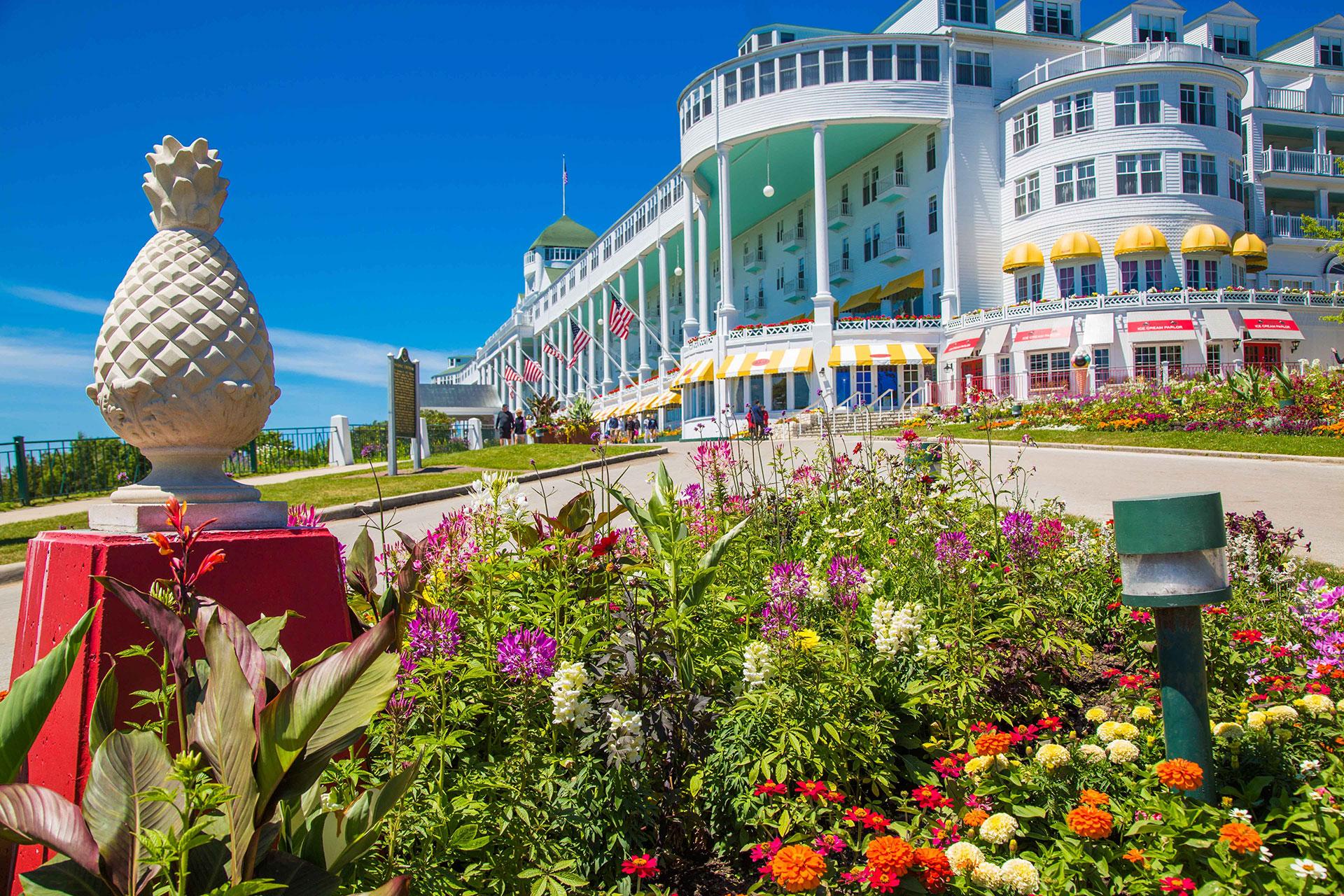 Grand Hotel on Mackinac Island in Michigan; Courtesy of Grand Hotel