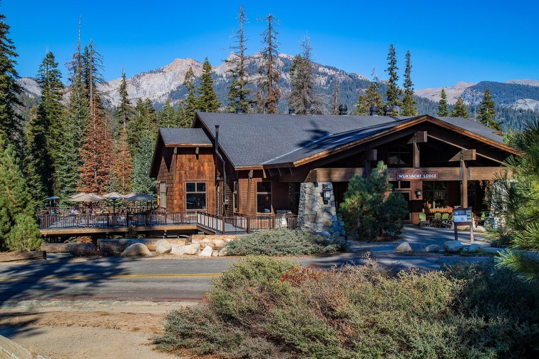 Wuksachi Lodge in Sequoia and Kings Canyon National Park
