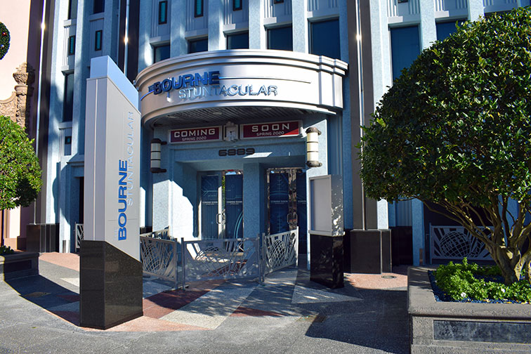 Bourne Stuntacular at Universal Studios Florida