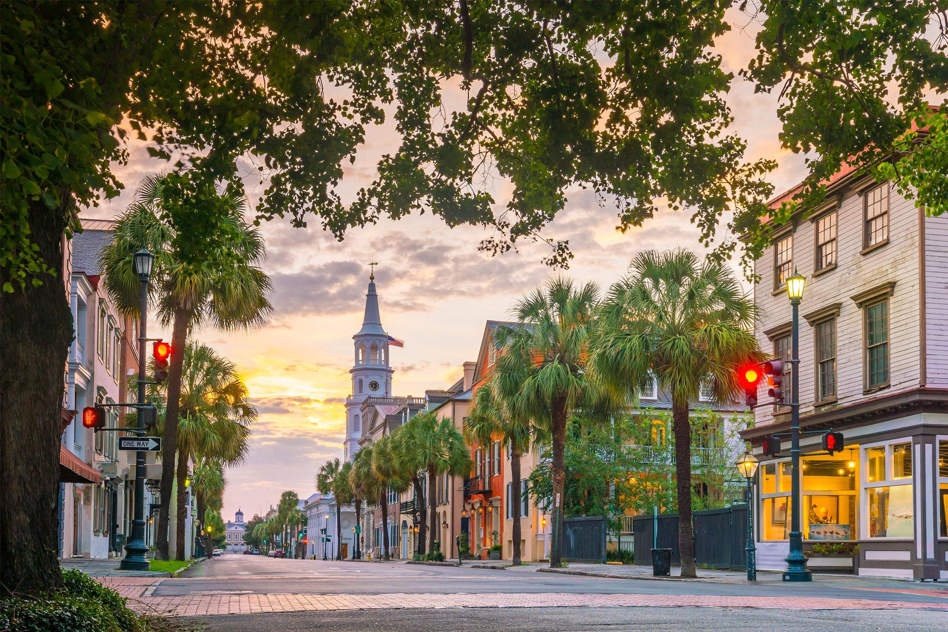 Charleston, South Carolina; Courtesy of f11photo/Shutterstock.com