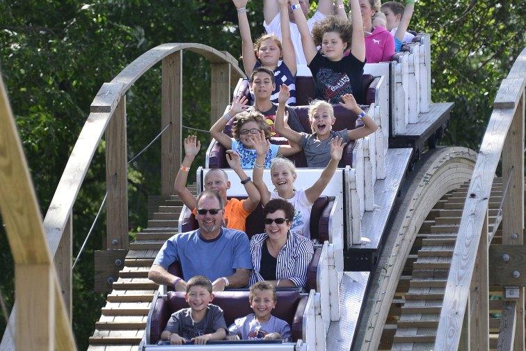 Arnolds Park Amusement Park; Courtesy of Travel Iowa