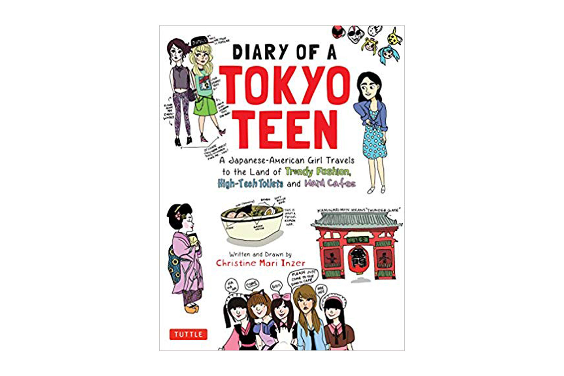 Diary Of a Tokyo Teen Book; Courtesy of Amazon