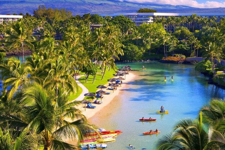 Hilton Waikoloa Village; Courtesy of Hilton Waikoloa Village