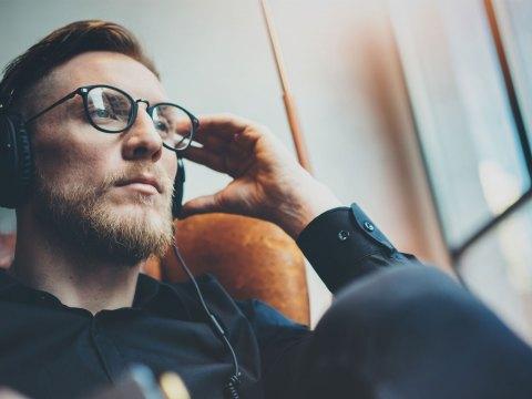 Man Wearing Headphones; Courtesy of SFIO CRACHO/Shutterstock.com