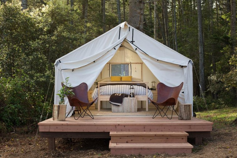 Mendocino Campground; Courtesy of Mendocino Campground