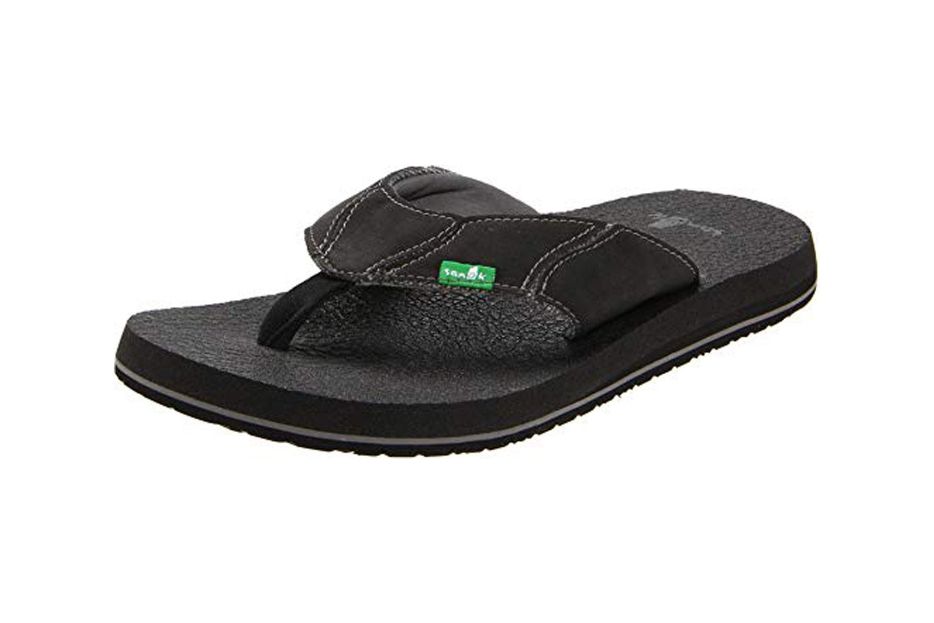 Sanuk Mens Flip Flops; Courtesy of Amazon