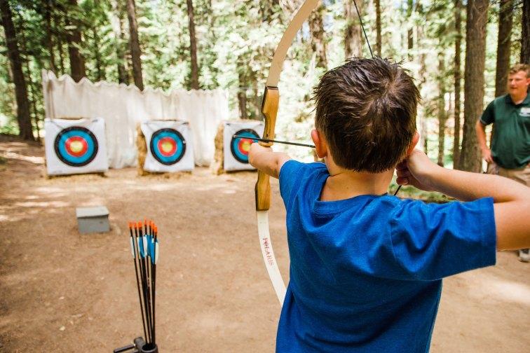 Archery Lessons at Tenaya Lodge at Yosemite; Courtesy of Tenaya Lodge at Yosemite
