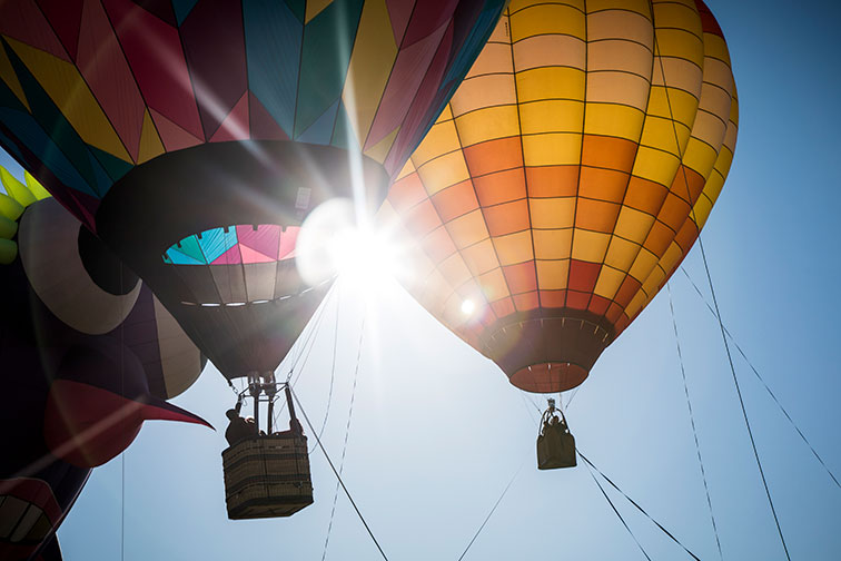 Hot Air Balloons in Santa Rosa, California