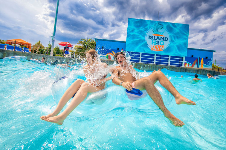 Island H2O Live Water Park at Margaritaville Resort Orlando in Kissimmee, Florida