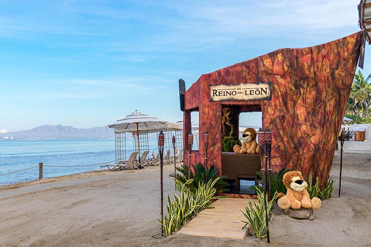 Lion King Spa Cabana at Grand Velas Riviera Nayarit