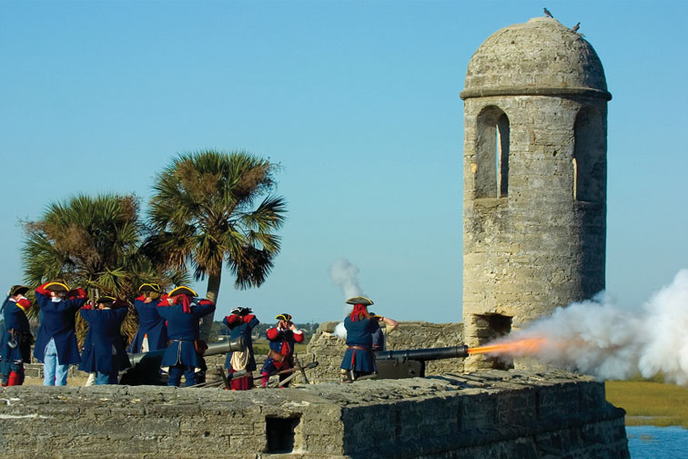 St Augustine, Florida; Courtesy of Jackie Hird/St. Augustine, Ponte Vedra and The Beaches CVB