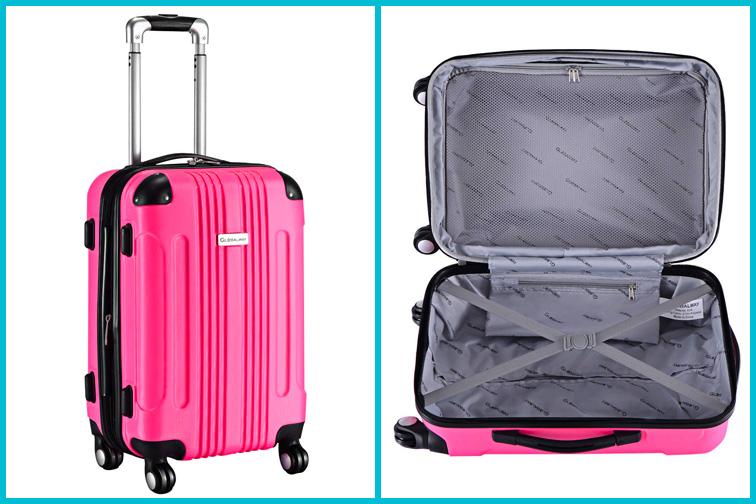 Goplus Carry On Kids Luggage; Courtesy of Amazon