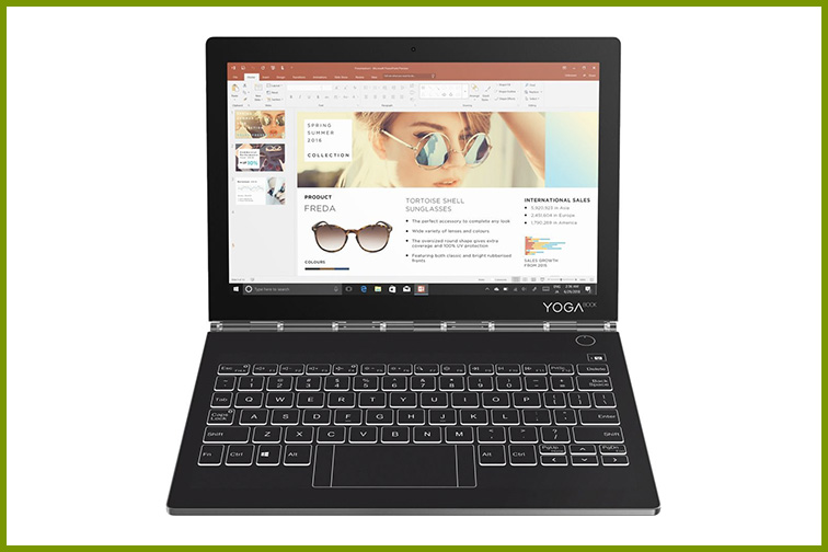 """Lenovo - Yoga Book C930 2-in-1 10.8"""" Touch-Screen Laptop; Courtesy of Best Buy"""