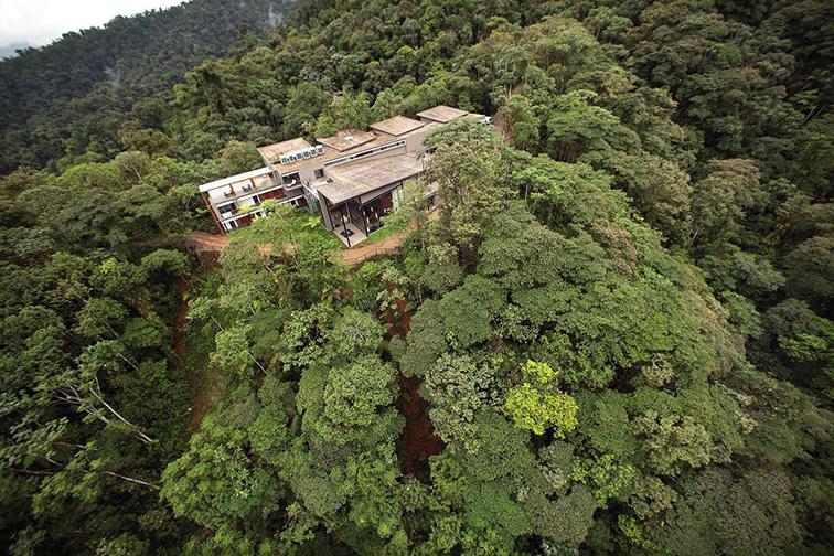 Mashpi Lodge in Ecuador; Courtesy of Mashpi Lodge