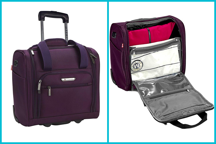 TPRC Smart Under Seat Carry-On Kids Luggage; Courtesy of Amazon