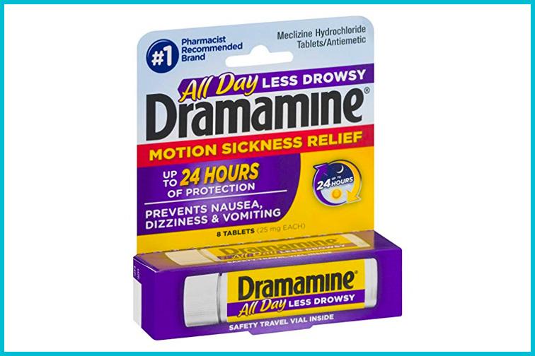Dramamine Less Drowsy; Courtesy of Amazon
