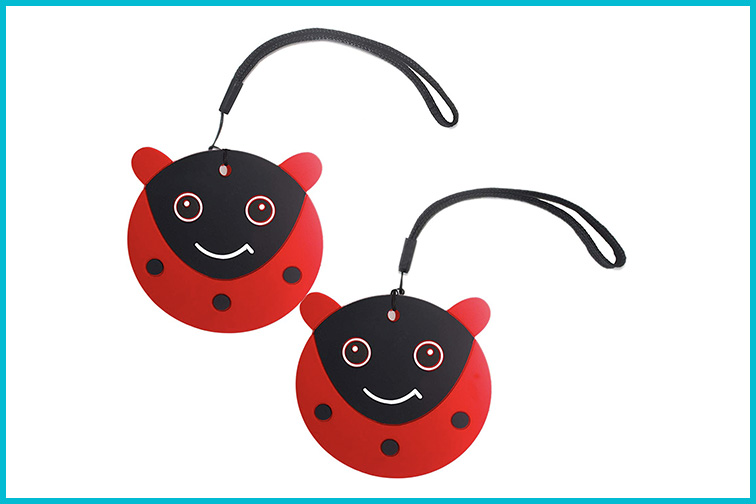 Luggage Tags for Kids; Courtesy of Amazon
