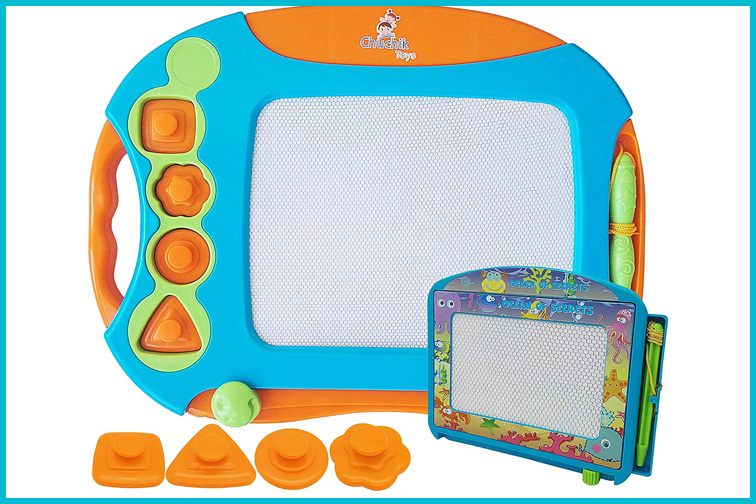 CHUCHIK Toys Magnetic Drawing Board; Courtesy of Amazon
