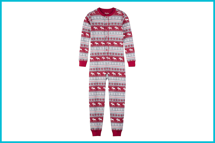 Hatley One-PieceHoliday Pajamas; Courtesy of Amazon