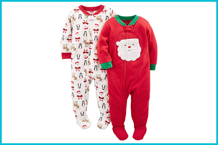 Simple Joys by Carter's Baby and Toddler Fleece Footed Pajamas; Courtesy of Amazon