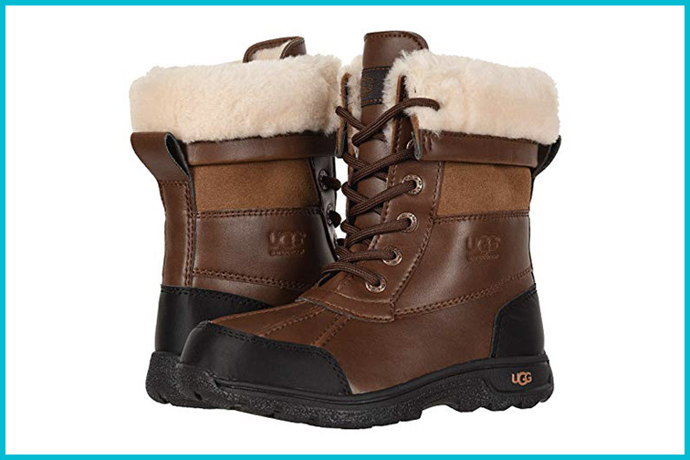 UGG Kids' K Butte II CWR Snow Boot; Courtesy of Zappos